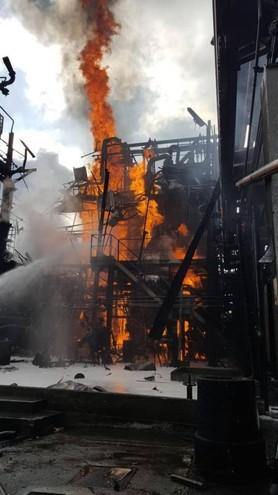 Esplosione a Bulgarogrosso